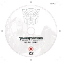 Transformers DVD Label 2 by NineteenPSG