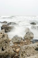 Sea - rocks 004 by akio-stock