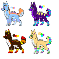 Canine Adoptables by Wolfies--Adopts