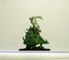 Night Goblin Big Boss on Greater Cave Squig by fairstranger