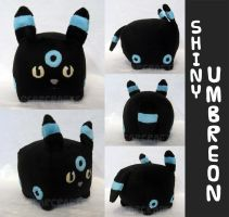 Shiny Umbreon Loaf Plush by GearCraft