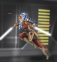 Ahsoka the Rebel by Dawnchaser