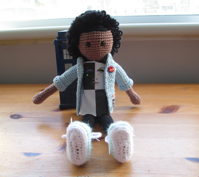 Doctor Who: Bill Potts Crochet Doll by fourthimbles