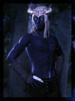 Night Sky Oberon by dylazuna