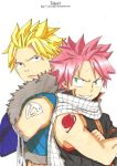 Natsu and Sting by ClaireRoses