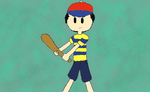Ness is Ready to Fight (Digital) by Silly-Sphere