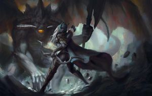 Sylvanas vs Lord of Terror by Lensar