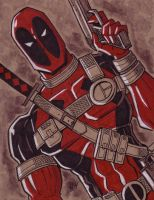 Deadpool by calslayton