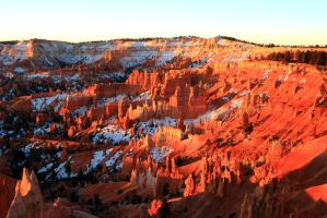 Sunrise at Bryce Canyon by Celem
