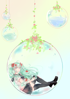 Bottle Miku by meinotscared