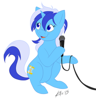 Minuette Singing Flat by TheAubri
