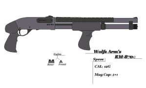 Wolfs Arm's RM-870C by GriffinDogR34