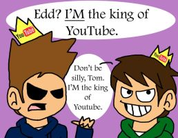 Eddsworld vs. TomSka by cheezyme123