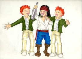 Fred, George and Jack by babymint34
