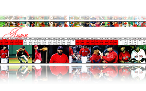 2010 Red Sox:  August by wrennette