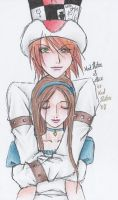 Mad and Alice by Mad-Hatter----X