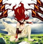 Beautiful knight / Erza Scarlet / Fairy Tail 431 by Mirajanee