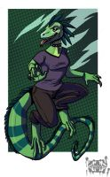 rad reptile by Inkfang
