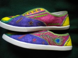 Panic Shoes 2.0 Sides by GAClive