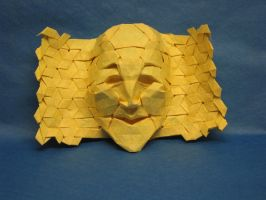 Tessellation Mask no 3 by Blue-Paper