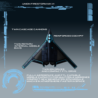 Firestorm MK.VI Union Fighter-Bomber by EmperorMyric
