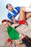 Chun Li and Cammy by GuenDoourden