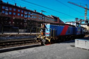 Trains of Stockholm 5 by JRL5