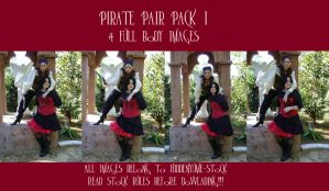 Pirate Pair Pack I by HiddenYume-stock