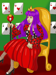 Queen of Hearts and Skulls by riku4
