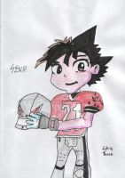 sena from eyeshield 21 by davybackfight