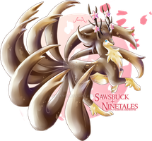 [Adopt] Sawsbuck X Ninetales [closed]