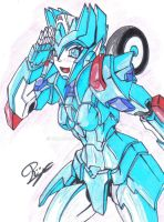 IDW Chromia by WildMagnus