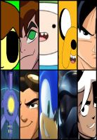 The 10 Ops - Main Characters - Season 1 by ian2x4