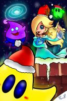 Christmas with Rosalina by miitoons