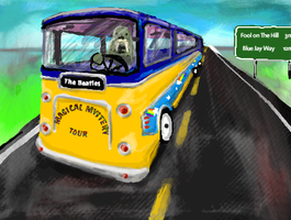 Magical Mystery Tour Bus by Makes-Wishes