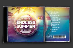 Endless Summer CD Cover Artwork by styleWish