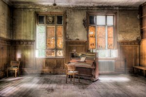 Ghost Piano by wulfman65