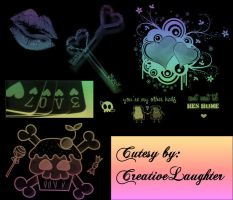 Cutesy PSP Brushes by creativelaughter