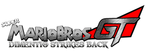Super Mario Bros GT Dimentio Strikes Back Logo by KingAsylus91