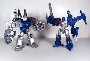 Topspin and Twintwist by Unicron9