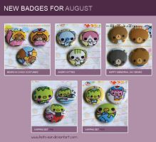 August Badges by Keito-San