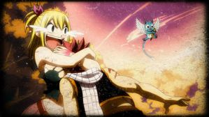 Natsu and Lucy by Tania15