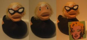 Andy Warhol Duck by msfurious