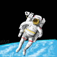 Space suit for Draw Something by zachjacobs