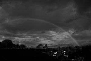 Day 117: Good morning, Rainbow by Kaz-D