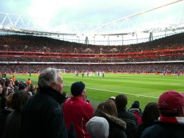Arsenal vs Manchester United by SamFanel