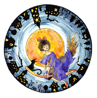 Kiki's Moonlight Delivery - Collaboration by Ceresta