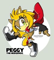 Here come Peggy by Pichu-Chan