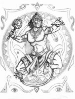 The Mighty Hanuman by JRtheMonsterboy