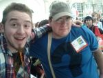 Alex Hirsch and myself by Closer-To-The-Sun